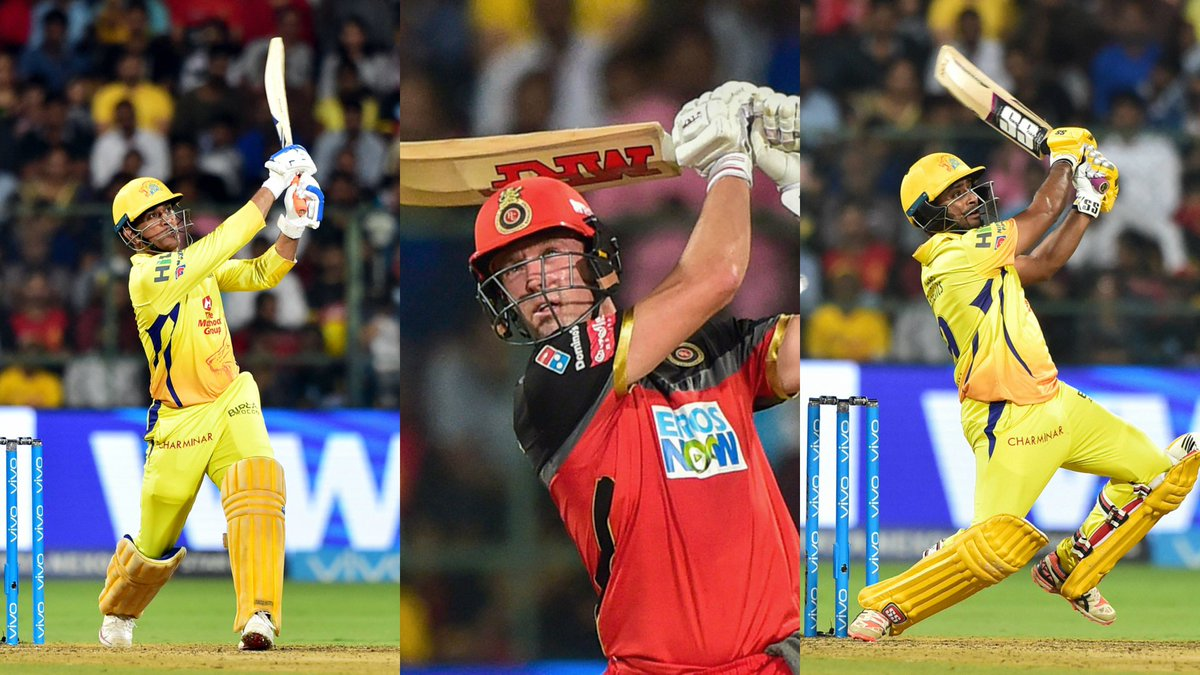 #WATCH: All the 33 sixes here!   IPL 2018: Sixes smashed, records broken as MS Dhoni's CSK beat Virat Kohli's RCB in Bengaluru  https://t.co/PDdJtEHDHU #IPL2018 #RCBvCSK