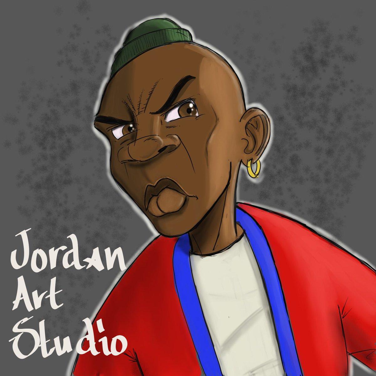 Da F*ck You Looking At? #art #blackart #blackartist #blackcharacters #representation #jordan #artstudio #gonepro #thisiswhatido #forusbyus  #doingforself #theglovescomeoff<br>http://pic.twitter.com/kKBGqR24vB