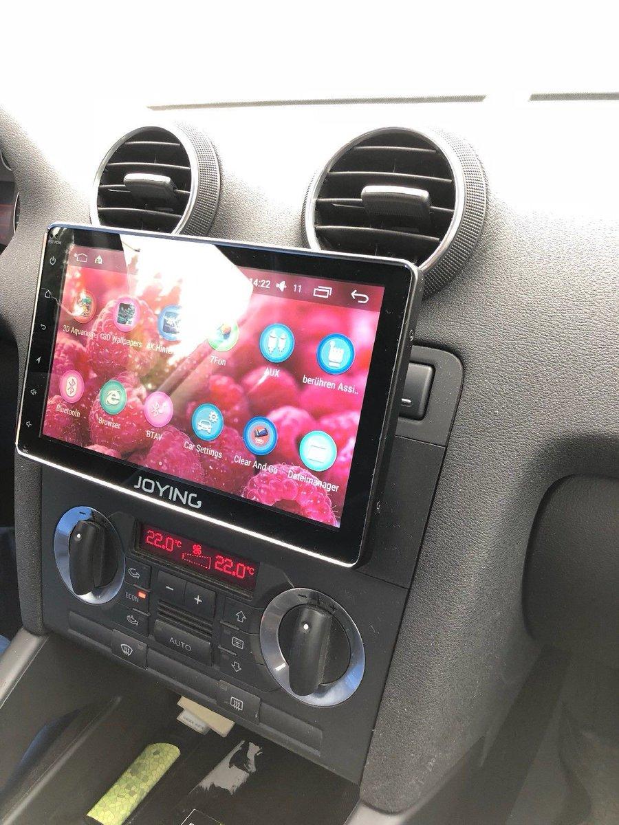 Joying Autoradio On Twitter Audi A3 8p 2003 With Joying 8 Inch