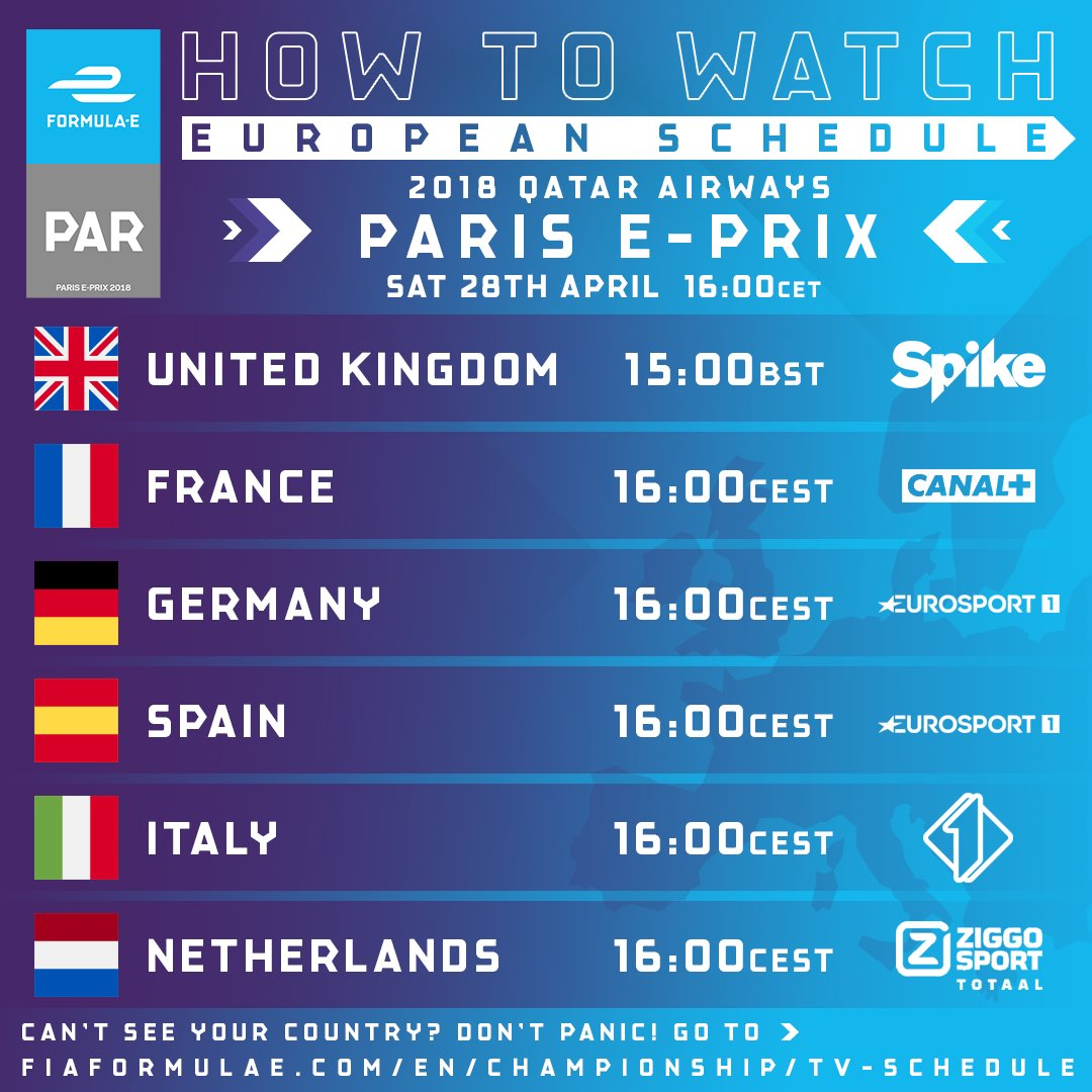 """Abb formula e on twitter: """"your guide of how to watch this."""