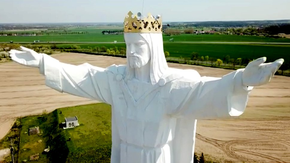 An Enormous Statue of Jesus in Poland Just Got Internet Antennas and No One's Sure Why https://t.co/GbbtHtdOyy