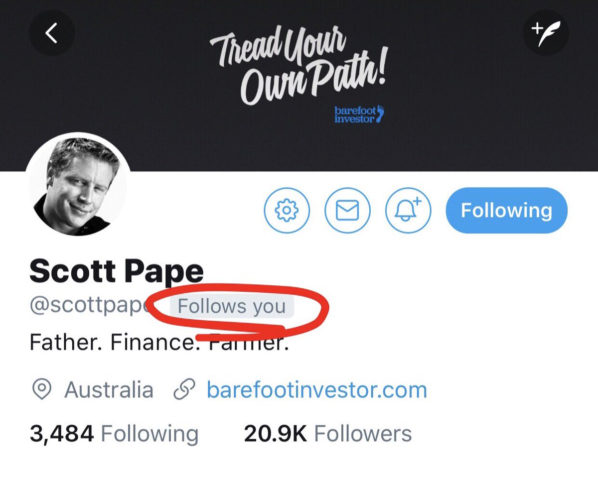 Scott pape scottpape twitter the barefoot investor new episode is out get around it for free here httpsitunesleaupodcastthe ash williams showid1360953520mt2 malvernweather Images