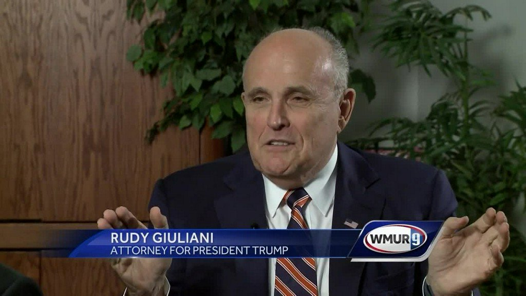 During NH visit, Giuliani says Comey is 'absolute embarrassment to the FBI' https://t.co/vFP7ig2plj