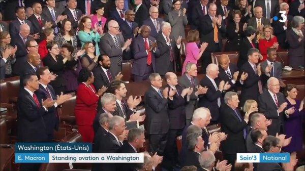 Emmanuel Macron aux Etats-Unis : standing ovation au Congrès https://t.co/2tiJkYsJQ8 #EmmanuelMacron