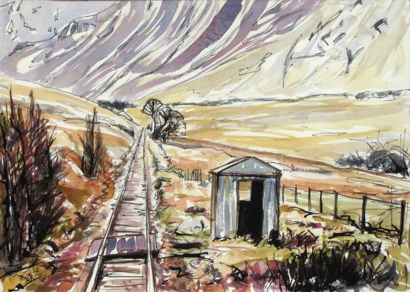 Delighted to speak at @ScotRail #StationAdopters lunch @doubletree @HiltonHotels in #Glasgow yesterday. Here are some of my #ScotlandByRail #paintings #artworks. @ACoRPOffice @AlexHynes @RailwayHeritage @NetworkRailSCOT #HorseshoeCurve #Inverurie #Nairn #train #railway #rail<br>http://pic.twitter.com/q6pNxHBsn6