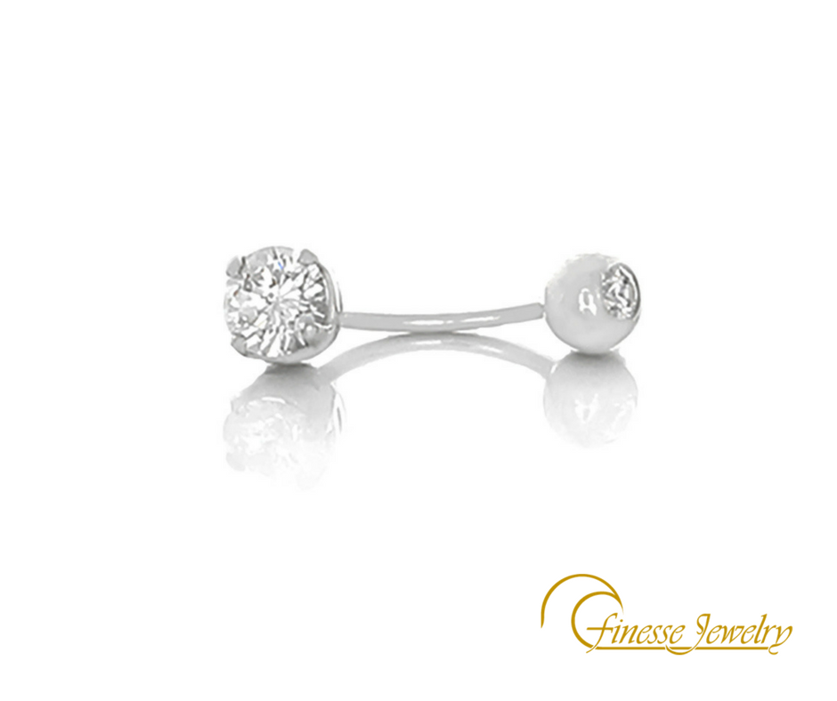 #BellyRing in 18k White #Gold &amp; #DesertDiamonds 2 1/2k #April #Birthstone  https:// finessejewelry.net/collections/de sert-diamonds-collection &nbsp; … <br>http://pic.twitter.com/iQisYrk1G0