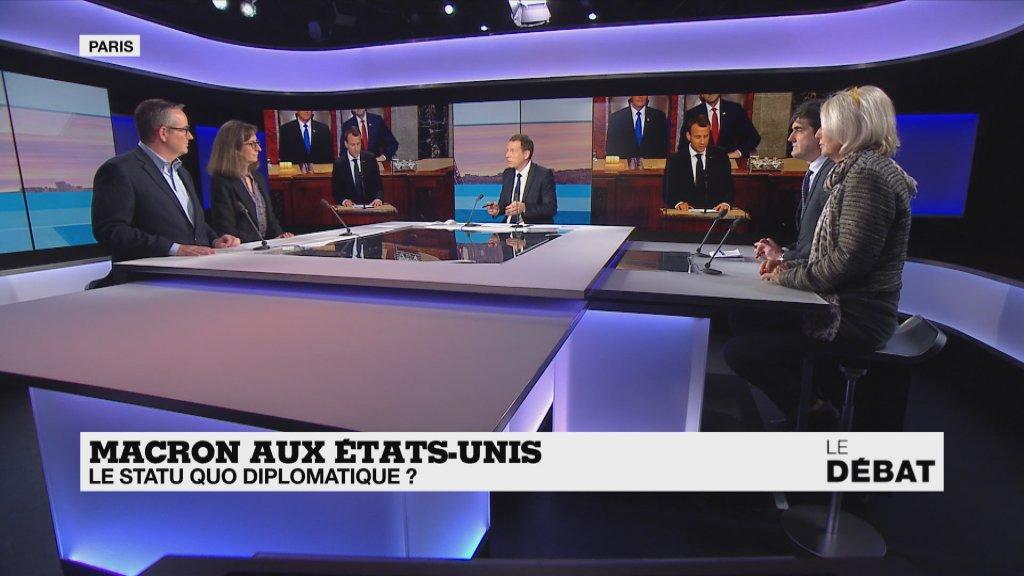 Emmanuel Macron aux États-Unis : le statu quo diplomatique ? https://t.co/mqhQ5weZT9