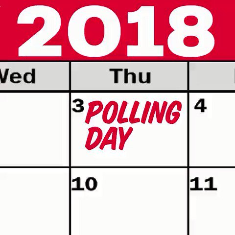 DON'T FORGET: Local elections are this Thursday!  Find your polling station now: https://t.co/C0rP2rzkaU https://t.co/dscsrFCAj8