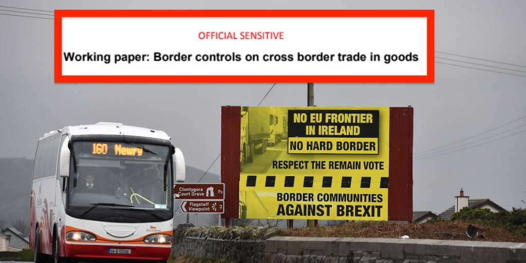 All options for Irish border after Brexit will damage Northern Ireland's economy, leaked analysis shows https://t.co/5UGrt6RZnd