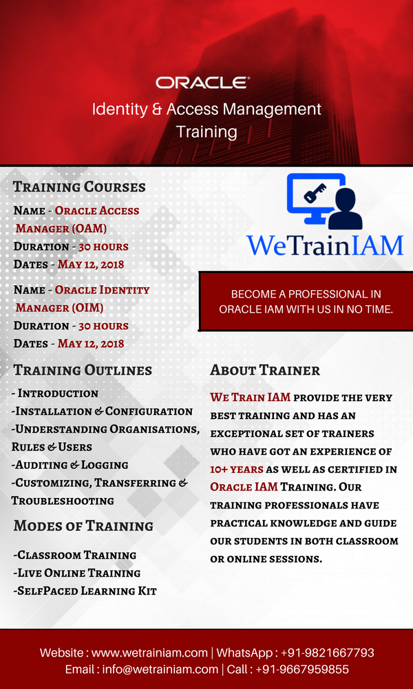 We Train IAM on Twitter: