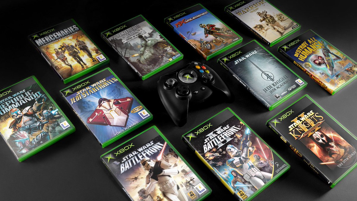 Xbox Espana On Twitter Los Juegos De La Xbox Original Que Estabas