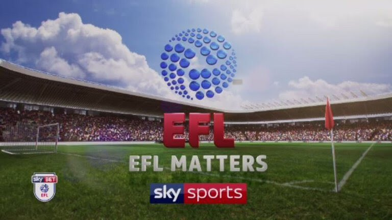 🕖 7pm tonight (and repeated throughout Friday)  📺 @SkyFootball   🗣 @GeorgeElek & I are the studio guests on EFL Matters with David Prutton.
