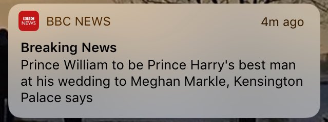 Probs not the biggest surprise to be fair   #BreakingNews
