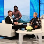 Image for the Tweet beginning: Great time on @TheEllenShow, tune