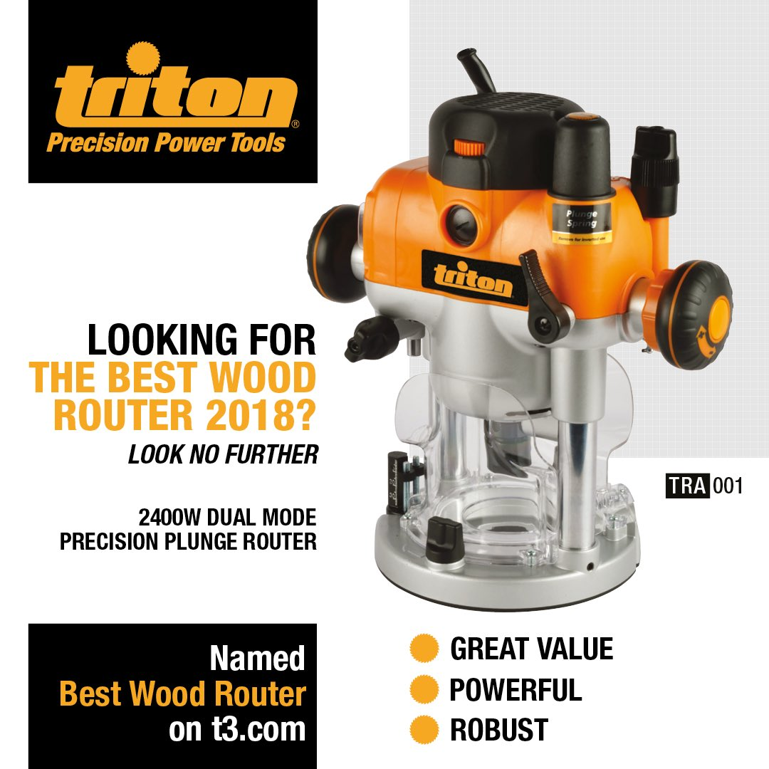 Triton Tools On Twitter Our 2400w Dual Mode Precision Plunge
