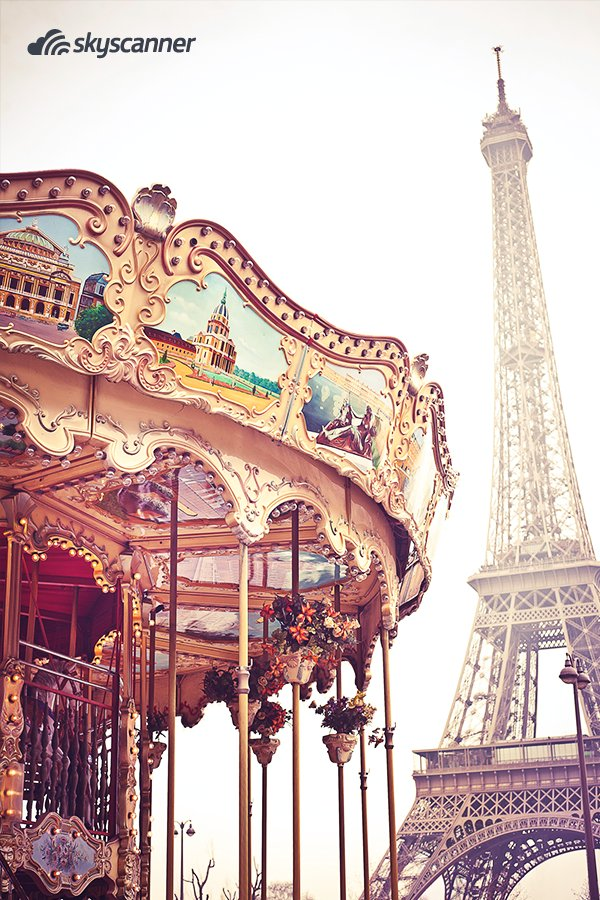 """Audrey Hepburn já dizia: """"Paris é sempre uma boa ideia"""" E, com passagens a partir de R$ 1.990, você pode ir até lá entender porquê. 🇫🇷✈️ https://t.co/MP1YGttXJt"""
