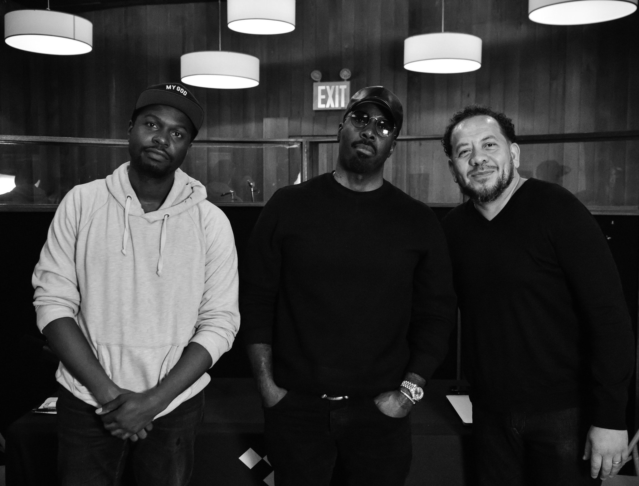 Coming soon! #RapRadarPodcast Mark Pitts @iammarkpitts #TIDAL �� @Calligrafist https://t.co/kqv0SMYOZH