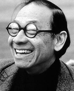 Happy birthday, I.M. Pei '40! Pei is the master architect who designed the Green Building and the Wiesner Building at MIT. #MITHistory   Photos: Steve Dunwell and @ArtsatMIT