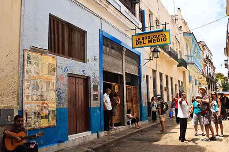 La Bodeguita del Medio, lugar emblemático de Cuba
