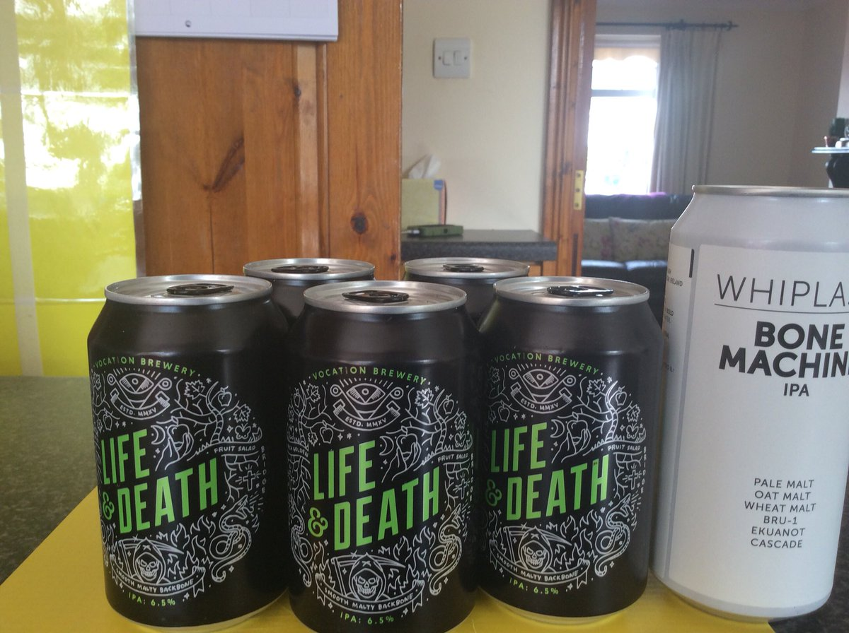 On the menu for this weekend @vocationbrewery @whiplashbeer #Ipa #CraftBeer always<br>http://pic.twitter.com/yZGAVzNejj