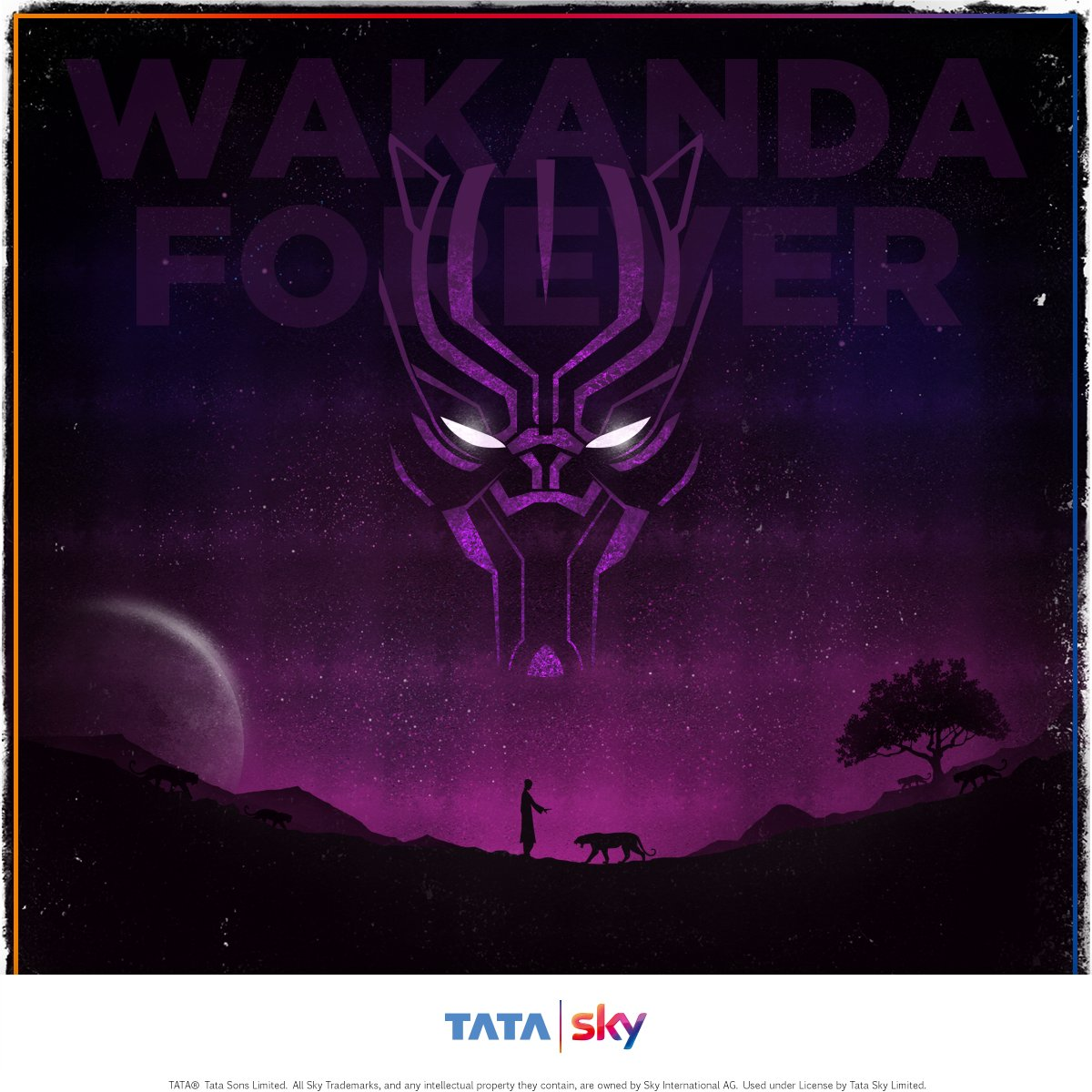 King T&#39;Challa of Wakanda is a crime-fighting vigilante who uses superior technology to protect his people. Tag the friends you are most excited to watch Avengers: Infinity War with! #InfinityWar #CountdownToInfinityWar <br>http://pic.twitter.com/uysItrFd0s