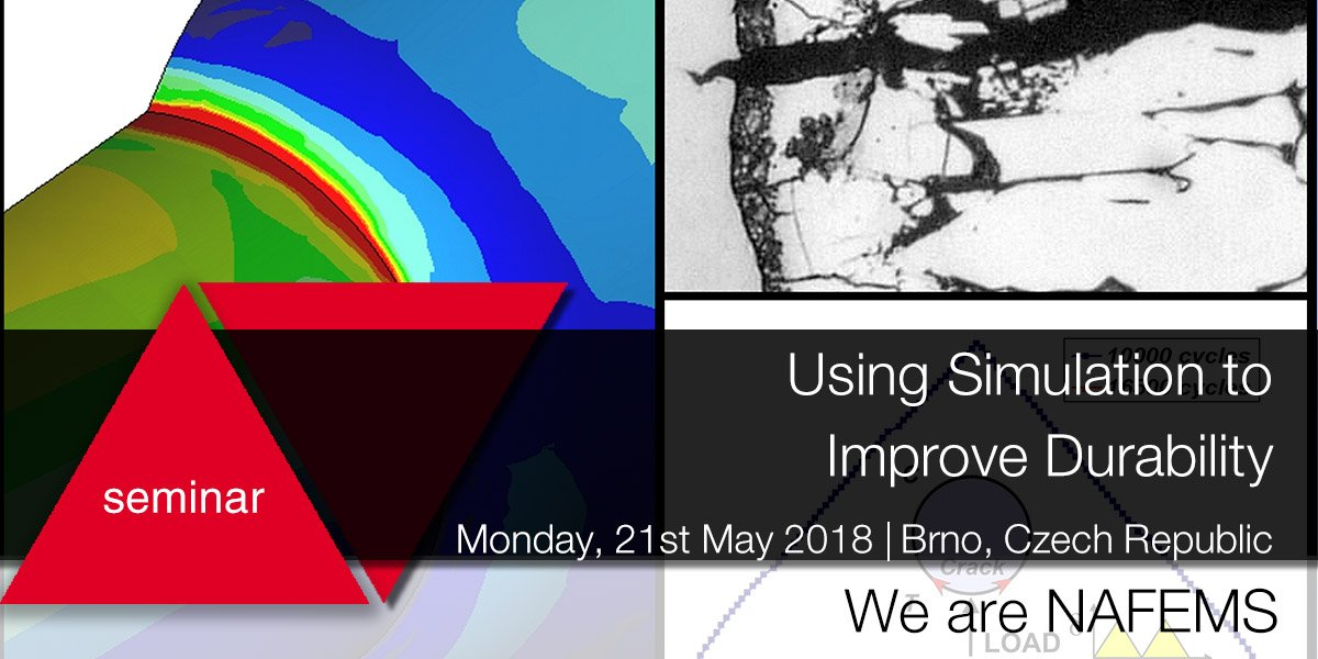 4cca2a006eb3 ... your analyses to predict potential  durability issues  Find out how  with our seminar on Using  simulation to Improve Durability in Brno