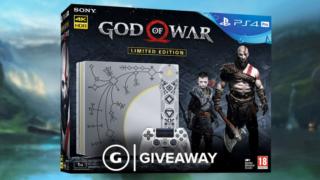 We're giving away a Limited Edition #GodOfWar PS4 Pro by @PlayStationUK! (UK Only) Enter here: https://t.co/9hY6D4mcnb