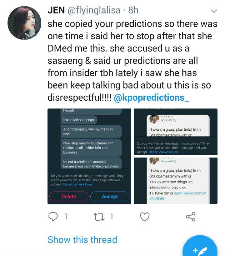 KPOP PREDICTIONS on Twitter: