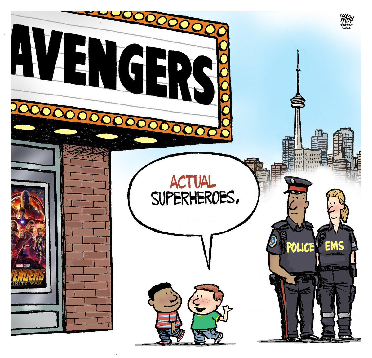 Here's today's #TorontoStrong cartoon in @TorontoStar