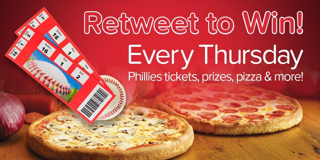 RETWEET this for a chance to win a @Seasonspizza prize pack.  Winner gets 2 Phillies tix, 2 med pizzas and 2 t-shirts. #ScoreSomeSeasons   Rules: atmlb.com/2Ju5Hl4