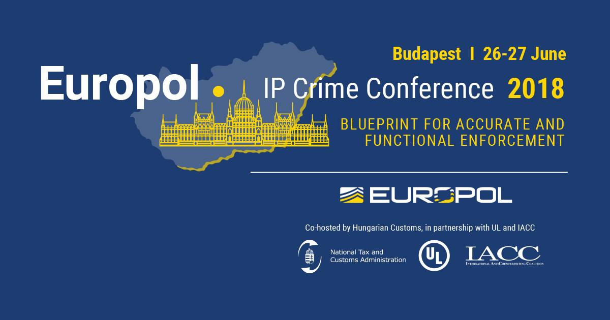 Europol on twitter fighting intellectual property crime httpeventsulevents2018 europol ip crime conferenceevent summary d6094c00be374bb59448fd503214c75epx co hosted with the hungarian national malvernweather Image collections