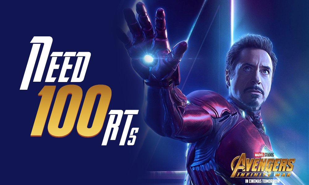 #Thanos wants #InifnityStones but all you need are RTs to enter the next stage! #InfinityOnMN