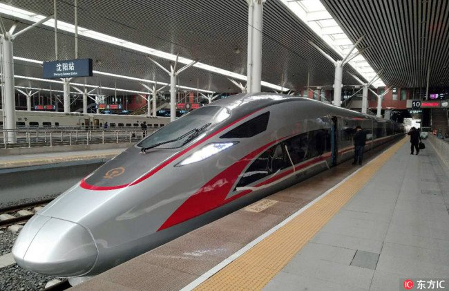 NE #China tests the country's first smart high-speed rail technologies, including cloud computing, the Internet of Things, big data and artificial intelligence to offer more efficient, green and comfortable services, according to China Railway Corporation.