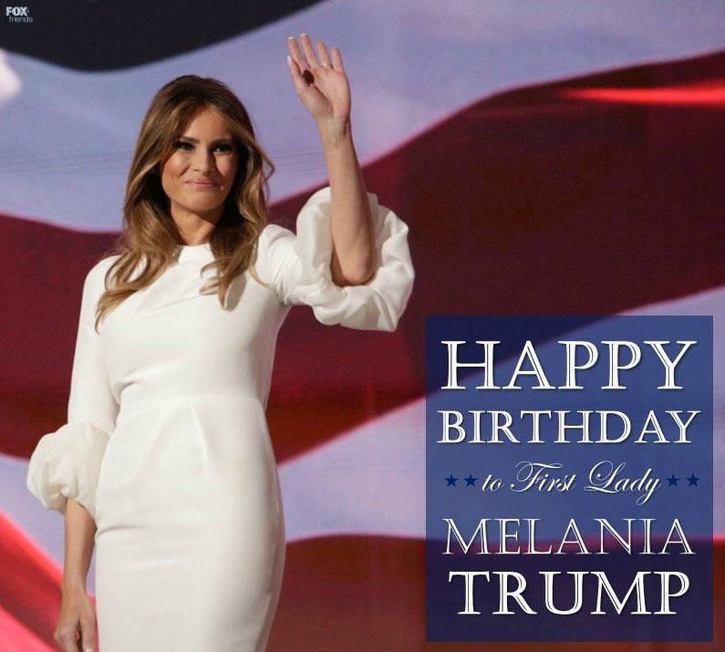 melania trump birthday - 680×612
