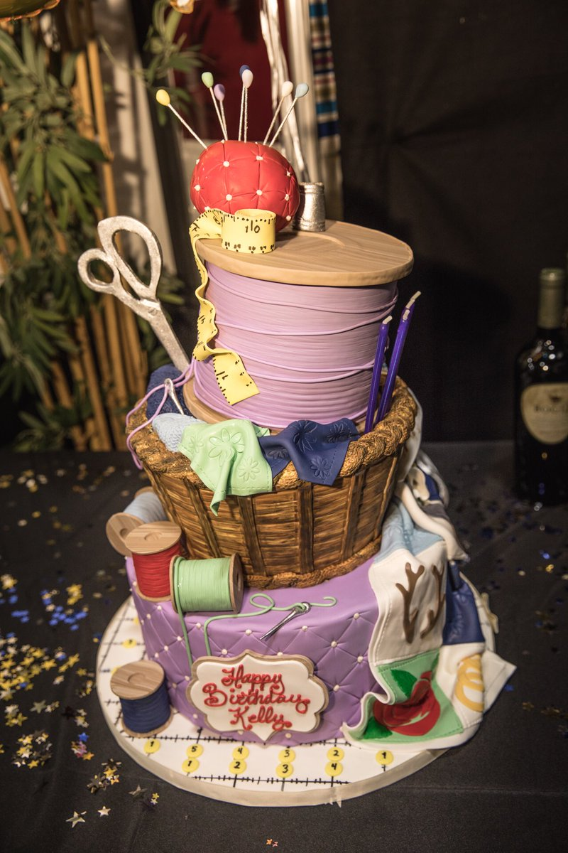 Thank you @BigSugarBakeshp for creating such amazing cakes for #TeamKC @NBCTheVoice and my birthday. They were beautiful and delicious!