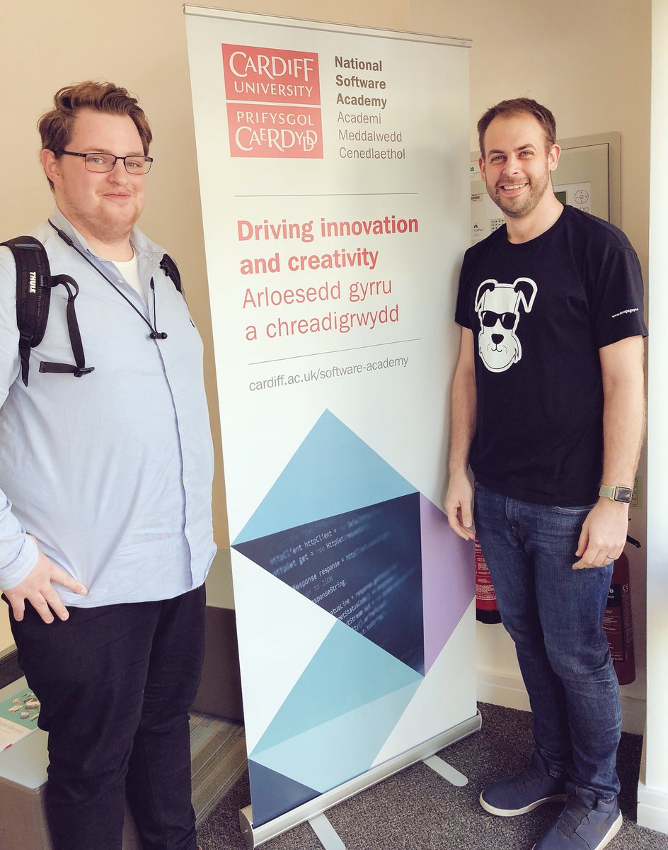 Thanks for having us @CUSoftAcademy - always great to meet your students and share with them what #LifeAtDOG can be like after you finish university! #CareersInTech <br>http://pic.twitter.com/WLAYEkfnfH