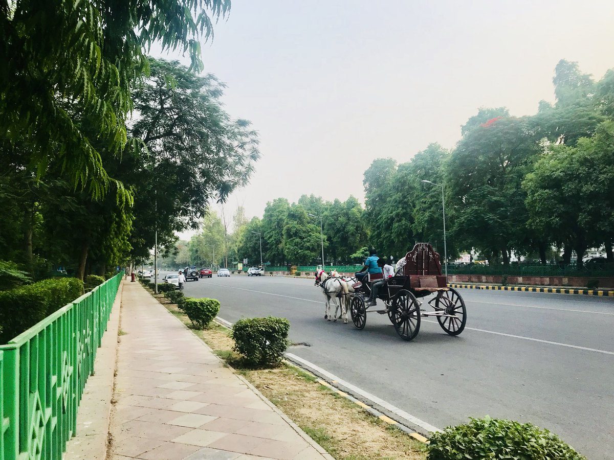 Delhi is beautiful even in this rising heat. Just needs a few evenings of head-thumping aandhi and heart-stopping rain.