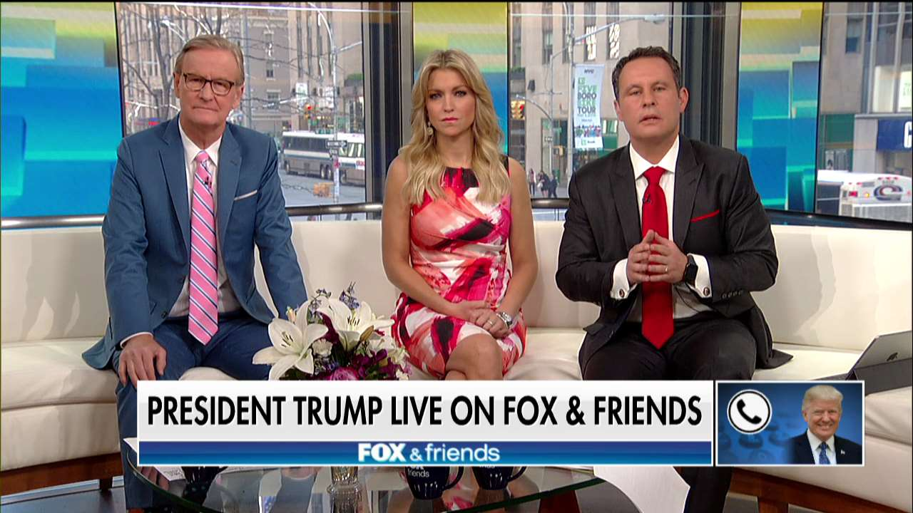 """.@POTUS on @foxandfriends: """"The economy is so strong and jobs are so good."""" https://t.co/cWsK1QbBO8"""
