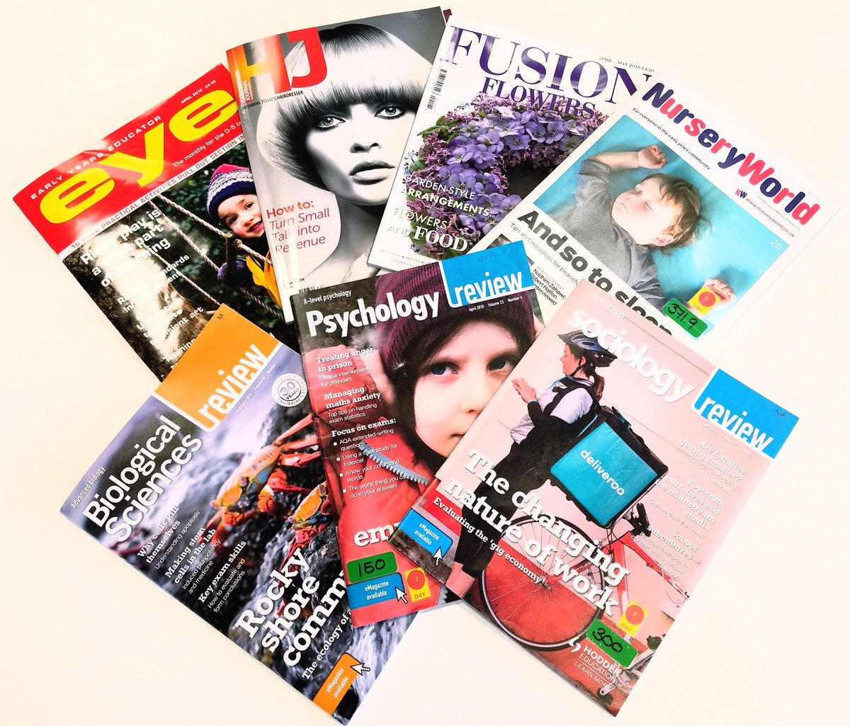 In addition to our wide collection of subject related e-journals, we also hold print journals across a range of subjects. These are available to all of our staff/students &amp; may be loaned for 1 week. They may also be renewed subject to recall. #nrclibraries #journals #magazines<br>http://pic.twitter.com/zSpBspLiJz