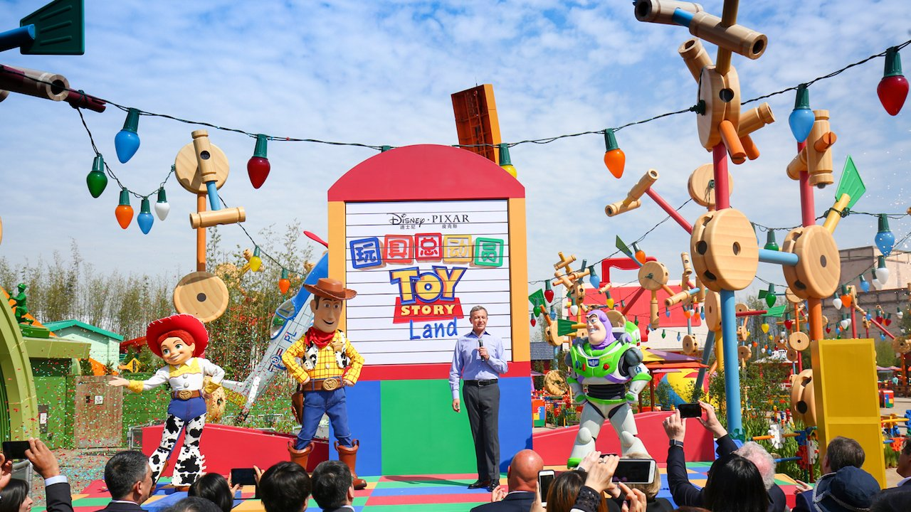 Disney·Pixar Toy Story Land is now open at Shanghai Disneyland! https://t.co/QixEXBw3si https://t.co/ws75CDQArg
