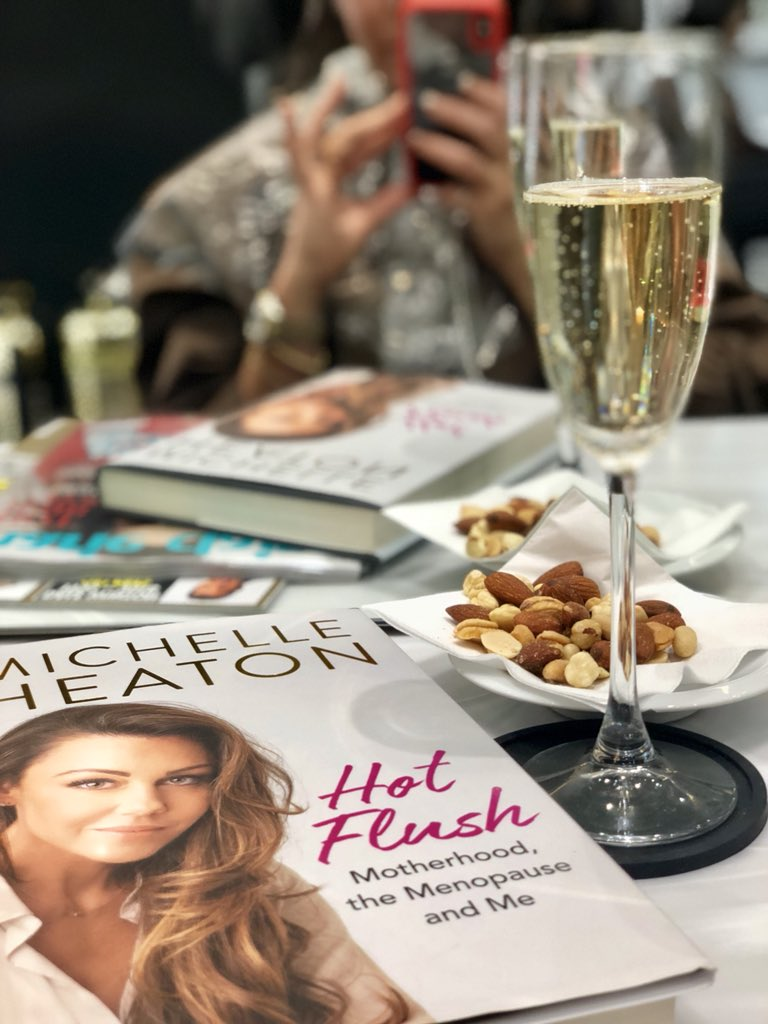 Self indulgent to have my book with me at my hair salon @InanchLondon ? I don't care! I actually have my own book! I'm gonna carry it around like a hand bag! Lol Out 3rd may!! Pre - order amazon uk!  Book tour week after with @WHSmithEvents tickets at @TicketmasterUK @OMaraBooks
