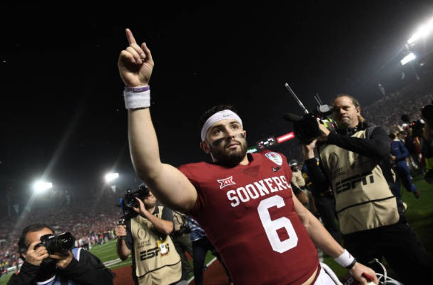 Report: Head coaches and GMs around the league believe Cleveland will select Baker Mayfield at No. 1 https://t.co/HKDbsAxmKu