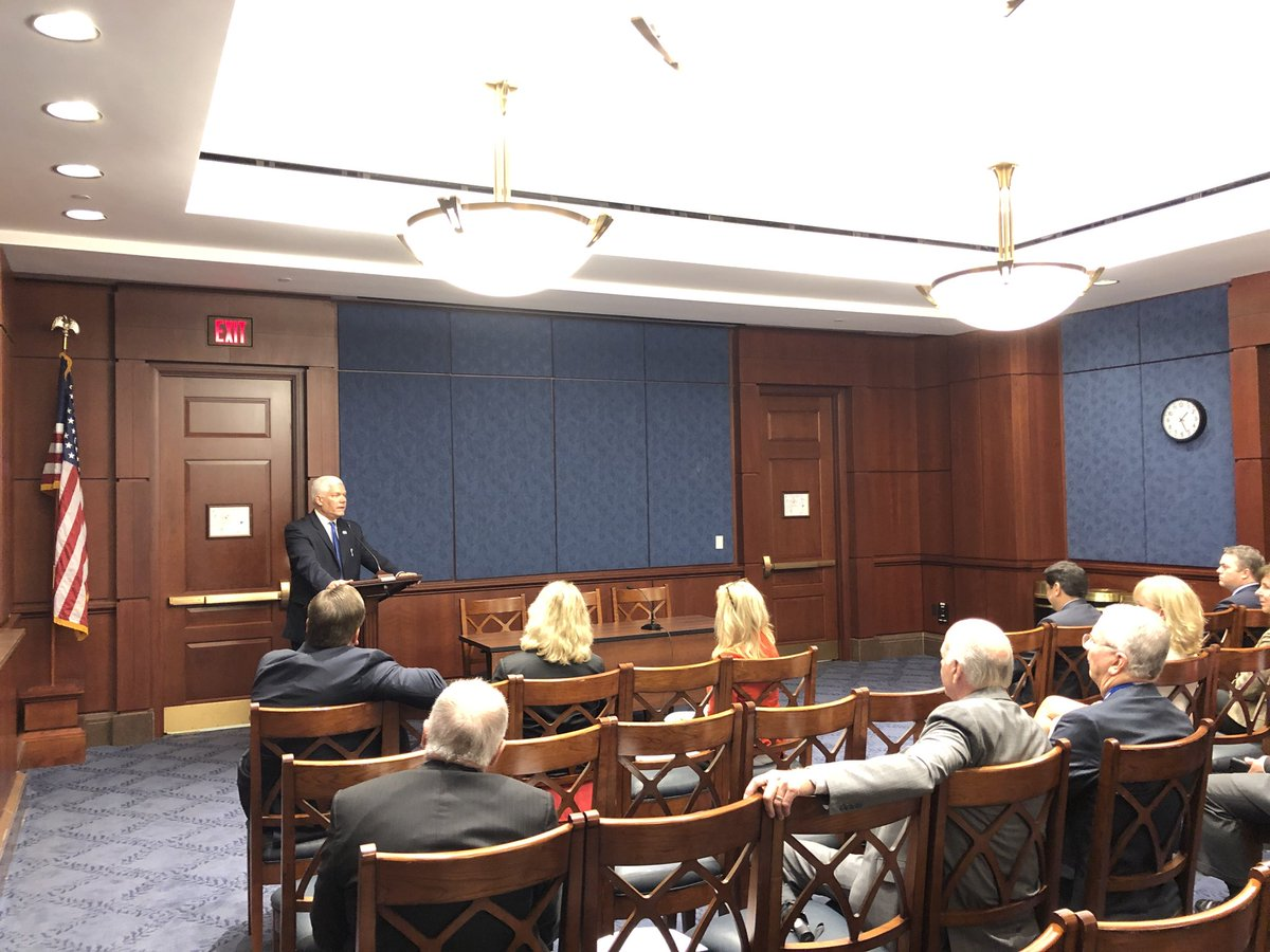 Texas is at the forefront of job creation and has always led the way for robust economic growth. Much of that has to do with our exceptional leaders in the business community. I was delighted to talk with members of @txbiz yesterday in Washington.