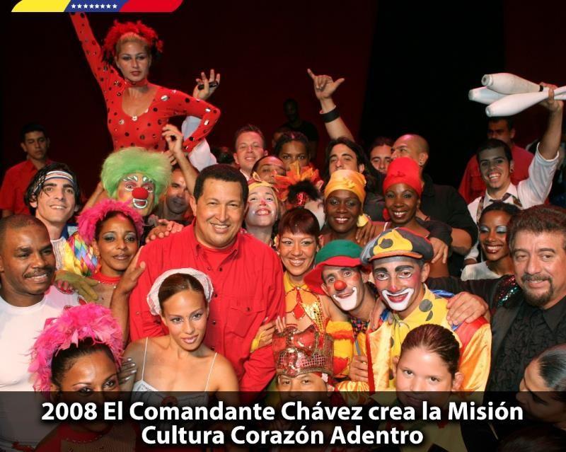 Hace 10 años el Comandante Chávez dio inicio a la Misión Cultura Corazón Adentro, programa social creado para promover la actividad cultural en las comunidades y rescatar las tradiciones que forman parte de nuestra identidad.