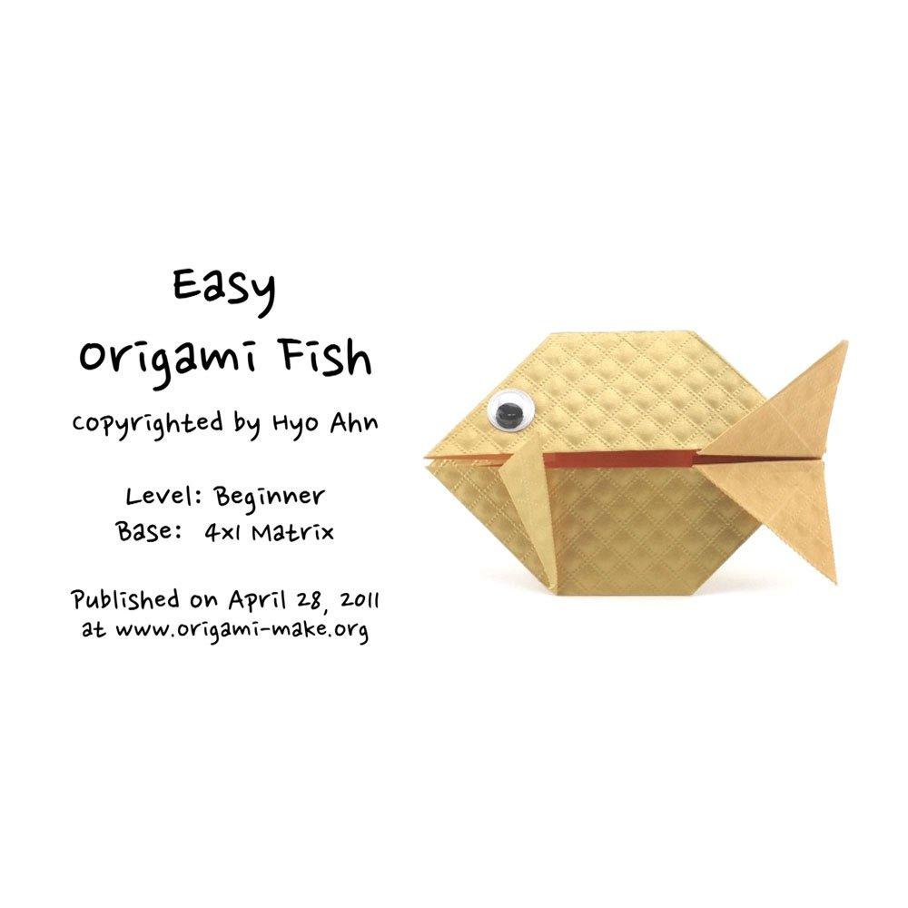 Origami Fish | 1000x1000