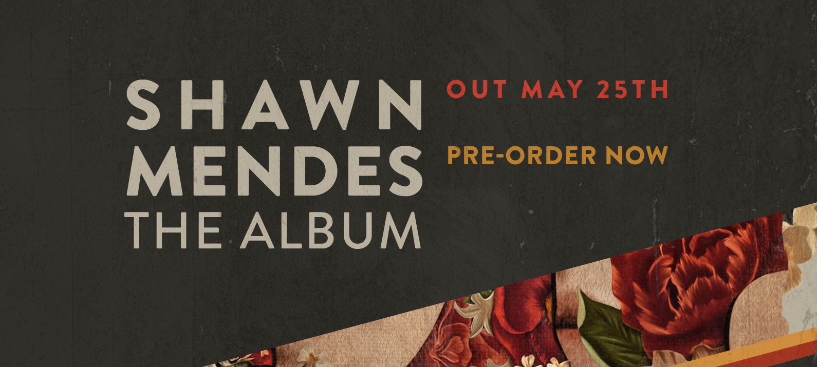 #ShawnMendesTheAlbum 5/25 https://t.co/raYGOCMsiI https://t.co/WHEUic1zYg