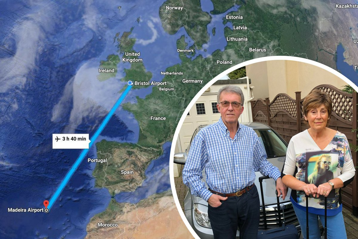 Couple's flight to Portugal took 15 hours and ended up landing back at the same UK airport it left from  https://t.co/bmHWU1MwS0