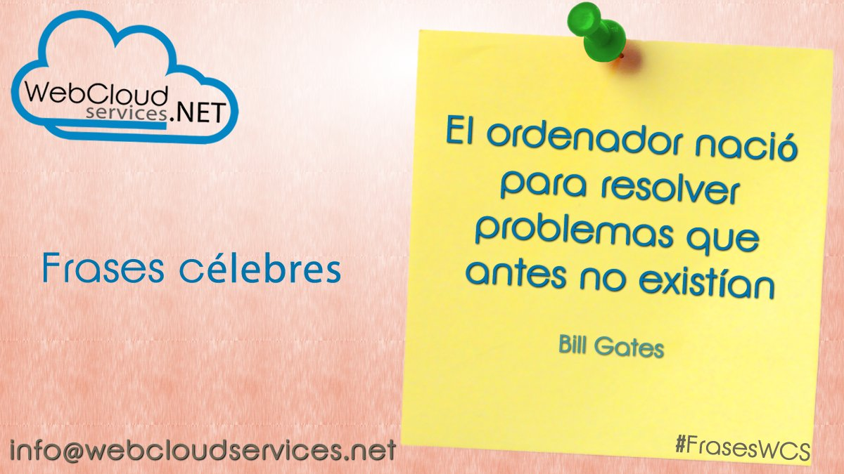 Webcloudservices On Twitter Fraseswcs Frases Célebres El