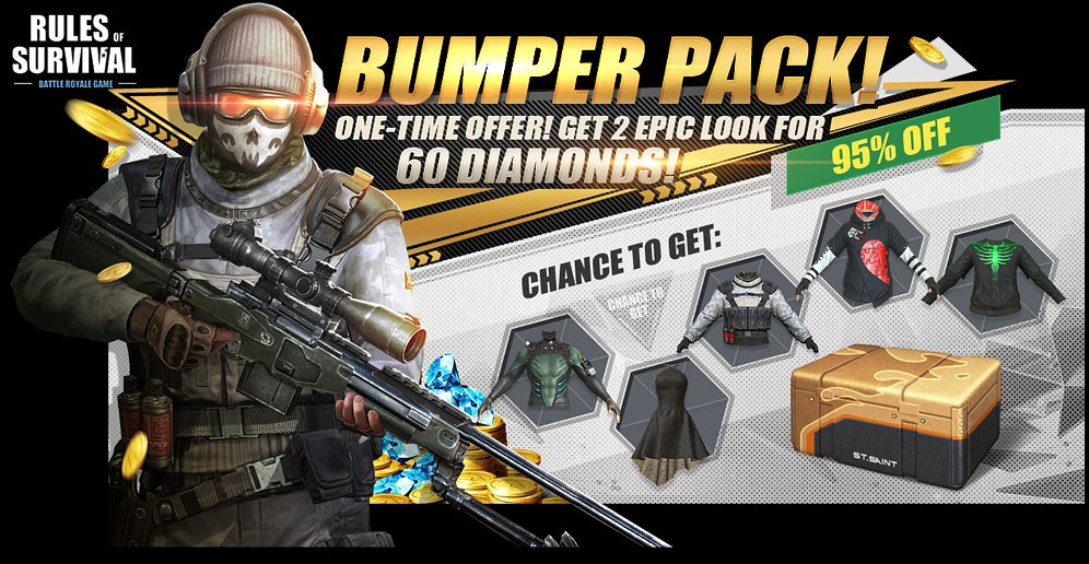 free diamonds rules of survival pc