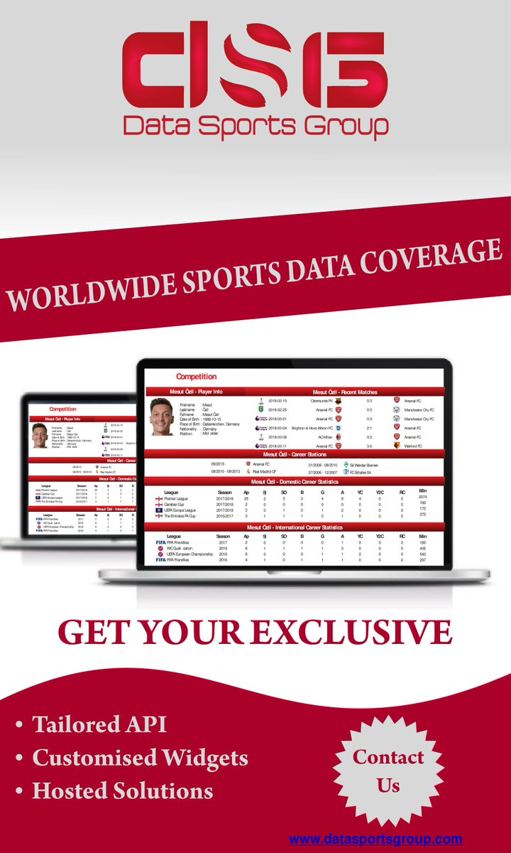 Data Sports Group on Twitter: